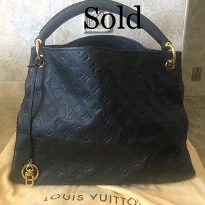 Like new artsy Black Empriente Hobo Bag
